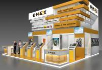 Проект стенда компании Емекс