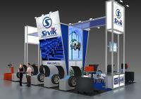 Проект выставочного стенда компании Sivik на выставку MIMS