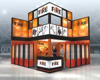 Проект компании Fire на выставку Биот