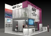 Стенд компании GIT