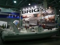 Стенд компании Бриг на выставке Боутшоу-2013