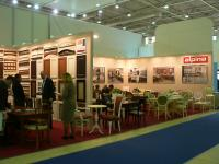 Стенд компании Альпина на выставке Мебель_2013