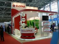 Стенд компании Элопак на выставке мясная и молочная индустрия-2013