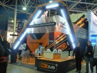 Выставочный стенд компании  ПРОРАБ, выставка «Мир климата 2011»