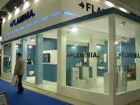 Выставочный стенд компании Фламиния, выставка МосбилдБатимат -2011