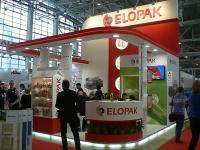 Выставочный стенд компании Элопак на выставке Молочная и Мясная Индустрия 2014