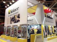 Стенд компании Kolner на выставке Mitex 2016