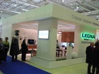 Выставочный стенд компании Legna, выставка «Мебель 2010»