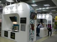 Стенд компании Gorenje на выставке мебель-2012