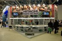 Стенд компании Hitachi на выставке Митекс 2012