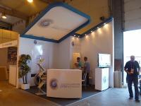 Стенд компании Jordan airmotive на выставке МАКС