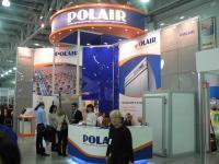 Стенд компании POLAIR, выставка Пир 2009.