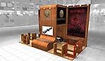 Проект стенда компании Льюпольд на выставке Arms & Hunting