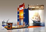 Проект стенда компании Морская политика на выставке Interfish