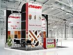 Проект стенда компании «ТБ СТАНДАРТ», выставка «Интеркомплект-2011»